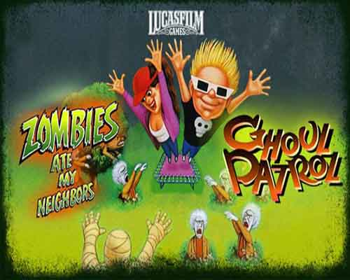 Zombies Ate My Neighbors and Ghoul Patrol PC Game Free Download